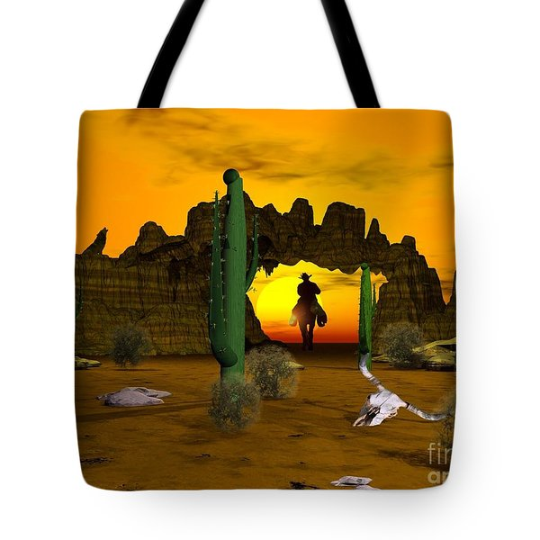 Lonesome Dove Tote Bag