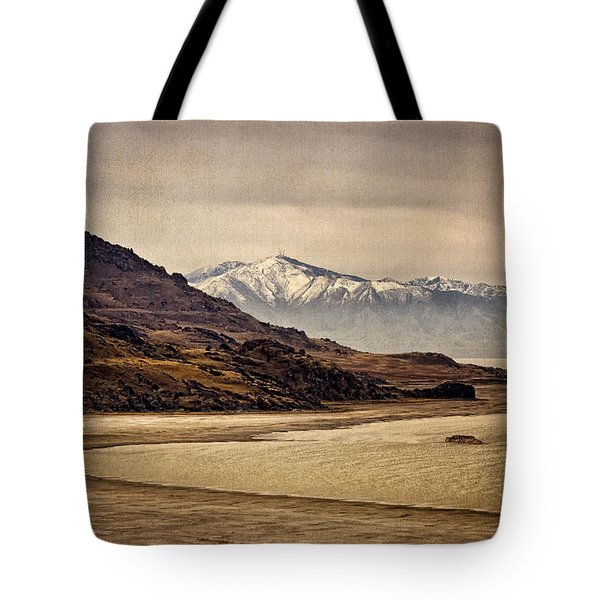 Tote Bag featuring the photograph Lonesome Land by Priscilla Burgers