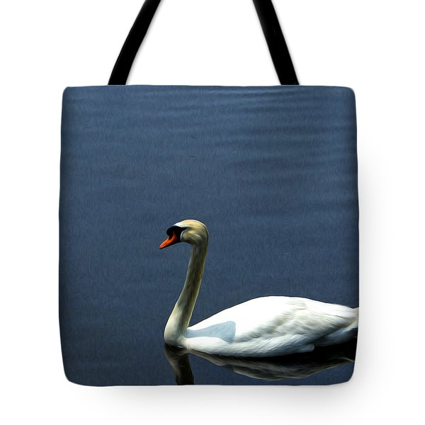 Lonesome Swan Tote Bag