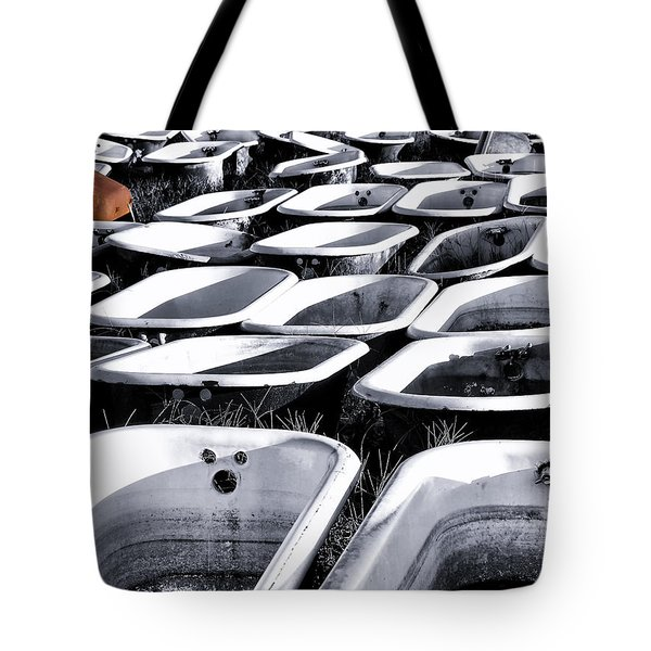 Lonesome Tub Tote Bag