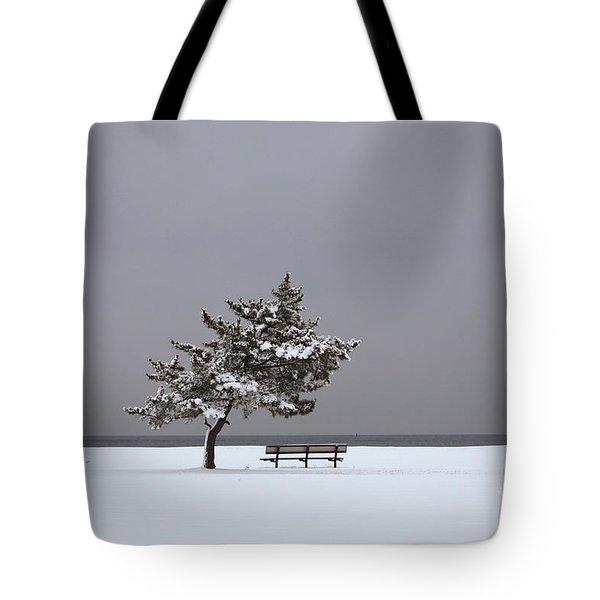Lonesome Winter Tote Bag by Karol Livote