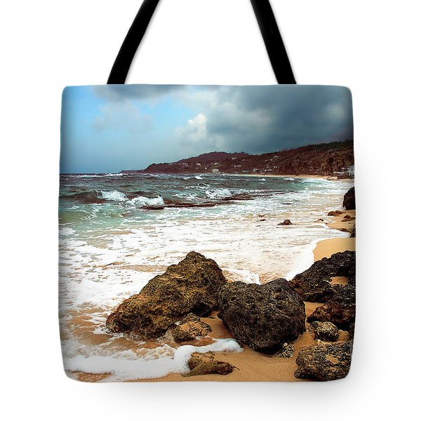 Long Bay - A Place To Remember Tote Bag by Hannes Cmarits