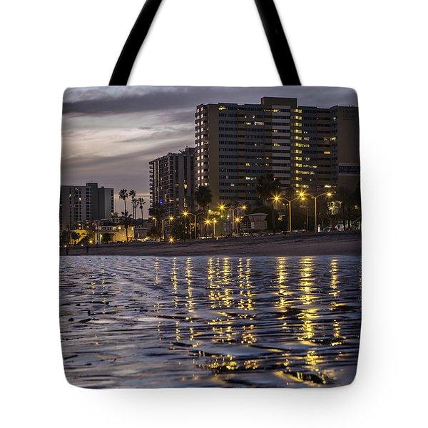 Long Beach Evening Tote Bag