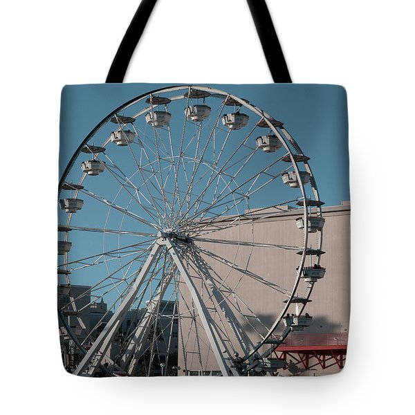 Tote Bag featuring the photograph Long Beach In Technicolor by Clayton Bruster