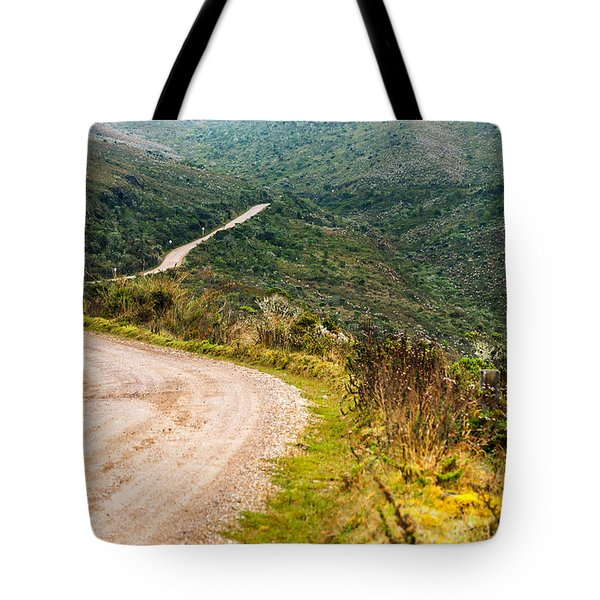 Long Country Road Tote Bag by Jess Kraft