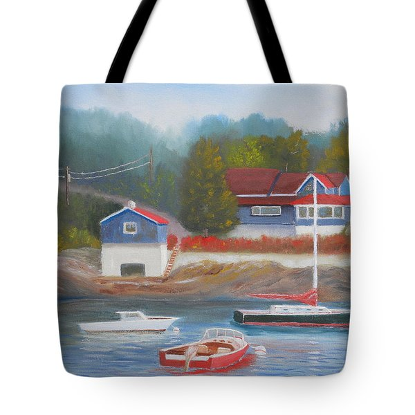 Long Cove Tote Bag