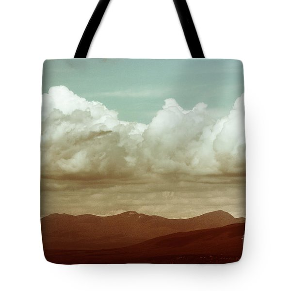Tote Bag featuring the photograph Long Horizon by Dana DiPasquale