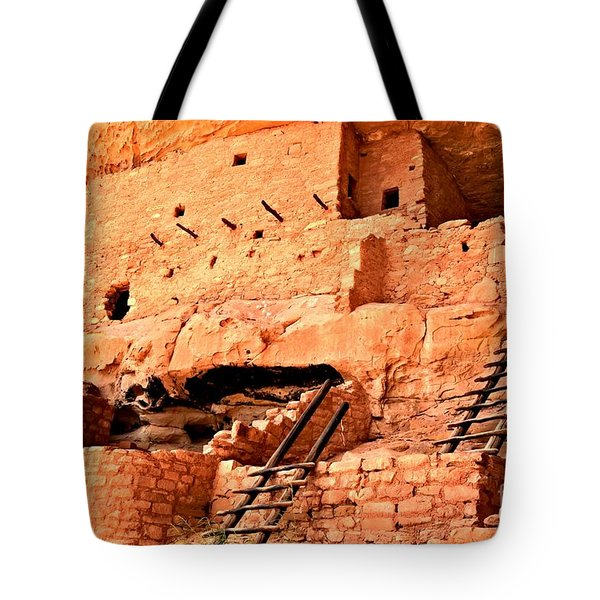 Long House Ladders Tote Bag