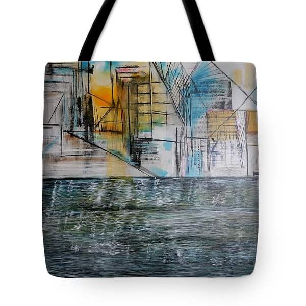 Long Island City Pov3 Tote Bag