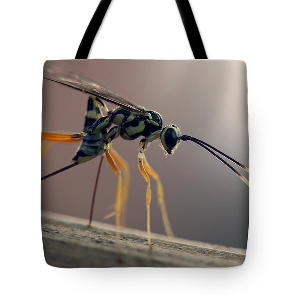 Long Legged Alien Tote Bag