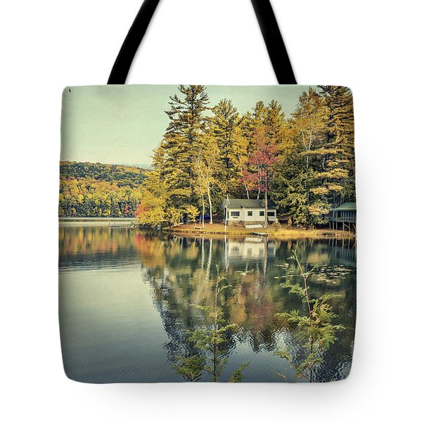 Long Misty Days Tote Bag