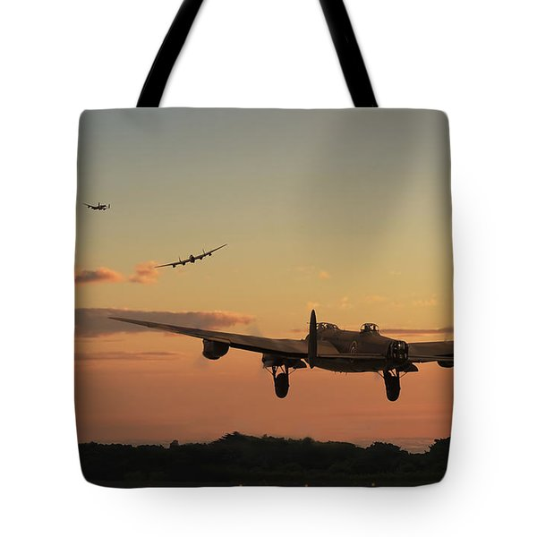 Long Night Ahead Tote Bag by Pat Speirs