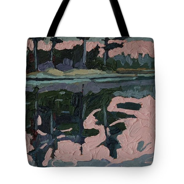 Long Reach Rain Tote Bag
