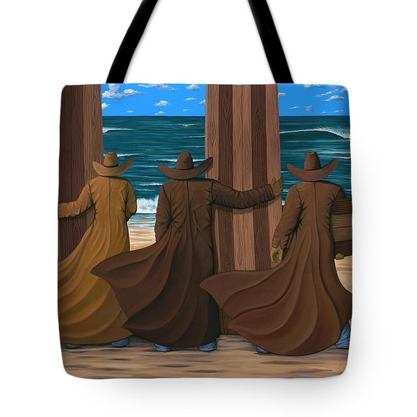 A Long Ride West Tote Bag