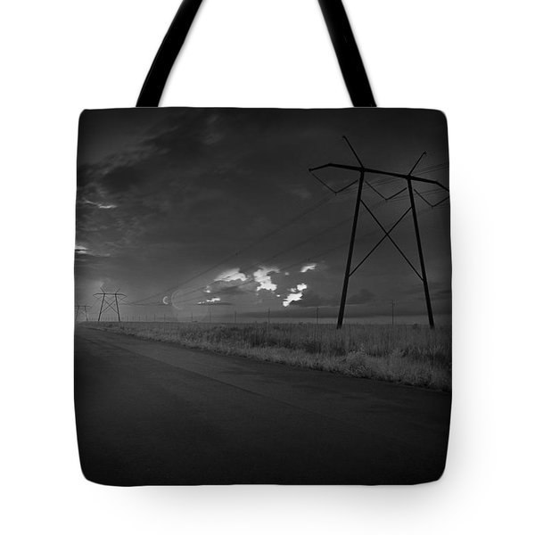 Long Road Home Tote Bag by Bradley R Youngberg