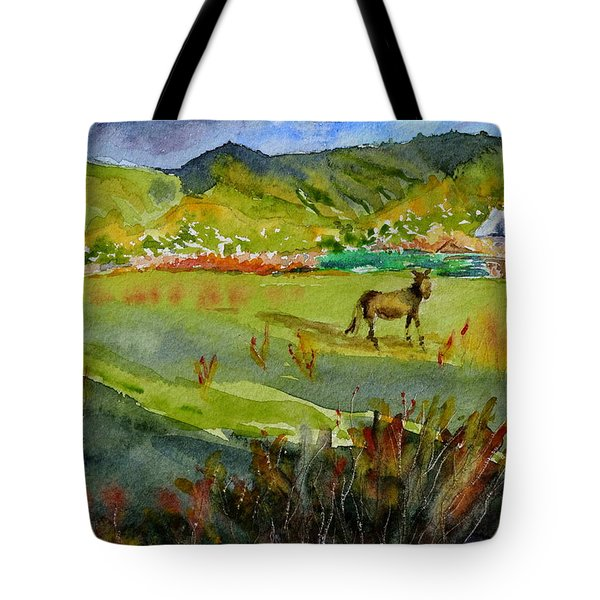 Long Shadow Storm Tote Bag
