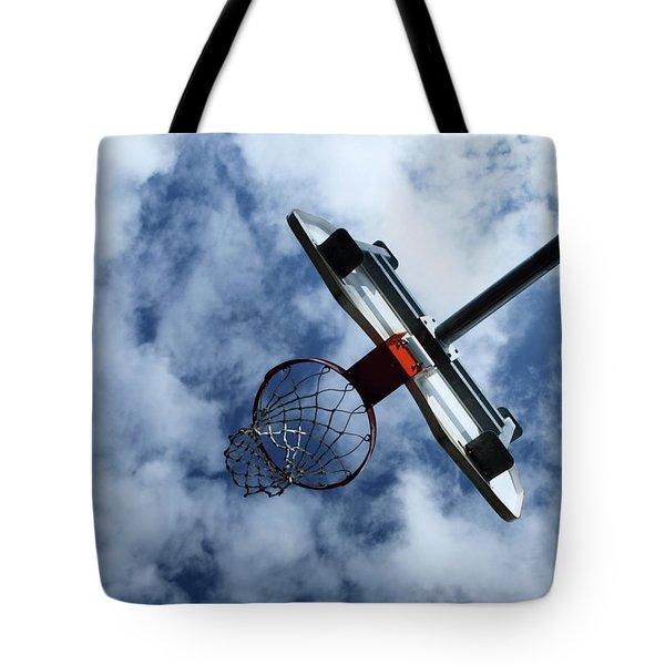Long Shot Tote Bag by Tom Druin