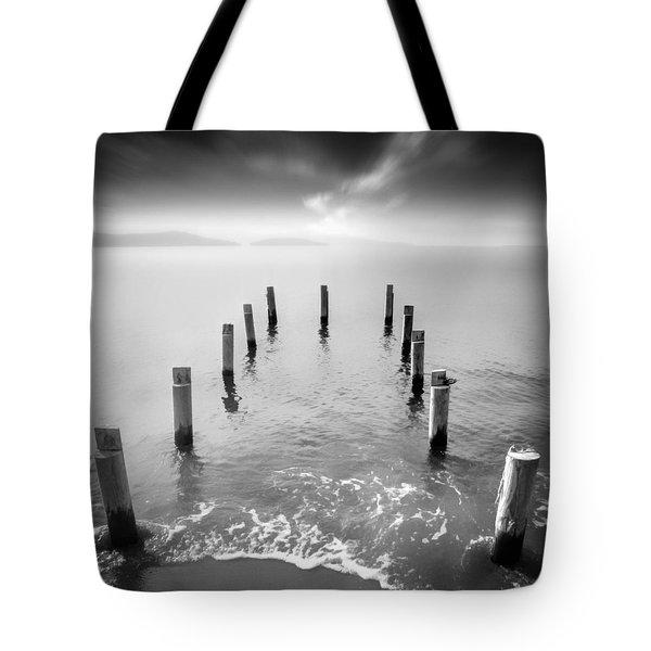 Long Silence Tote Bag by Taylan Apukovska