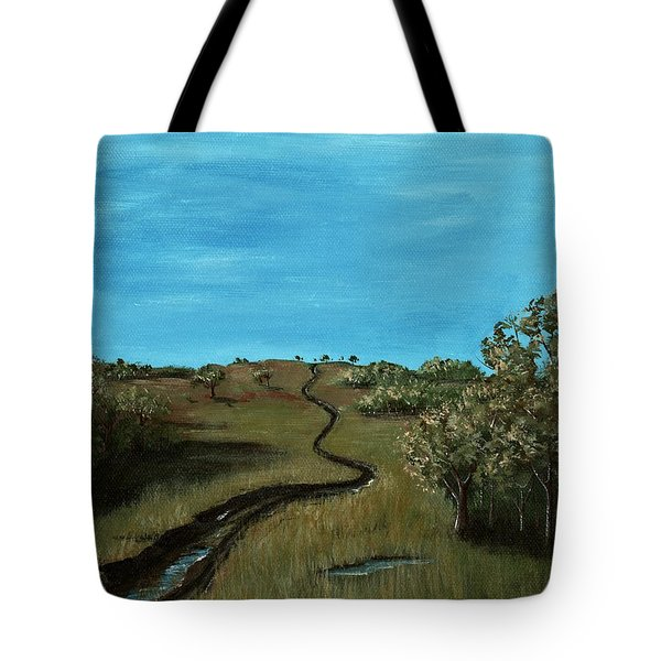 Long Trail Tote Bag by Anastasiya Malakhova