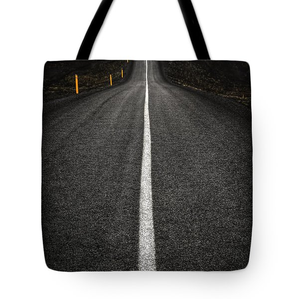 Long Way To Nowhere Tote Bag