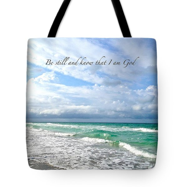 Be Still Tote Bag by Margie Amberge