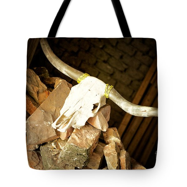 Tote Bag featuring the photograph Longhorn by Erika Weber