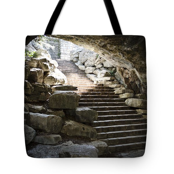 Longhorn Stairs Tote Bag