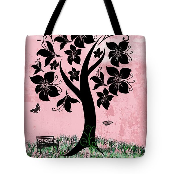 Longing For Spring Tote Bag