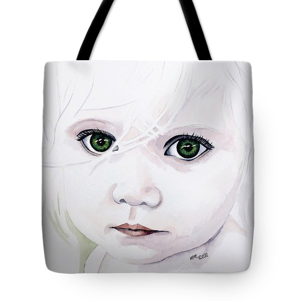 Longing Eyes Tote Bag