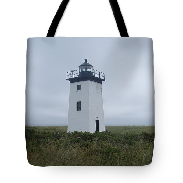 Longpoint Lighthouse Tote Bag