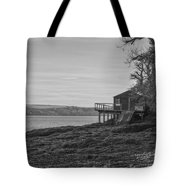 Lonley Boat House Tote Bag