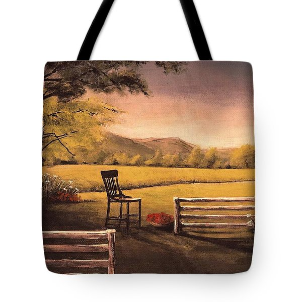 Lonsesome Chair Tote Bag