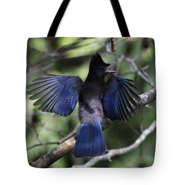 Look At My Wings Tote Bag by Alyce Taylor