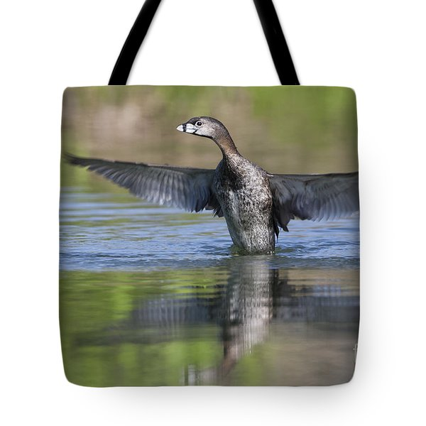 Look At My Wings Tote Bag by Ruth Jolly