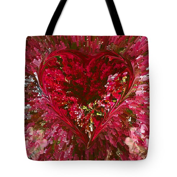 Look Deep Into My Heart Tote Bag