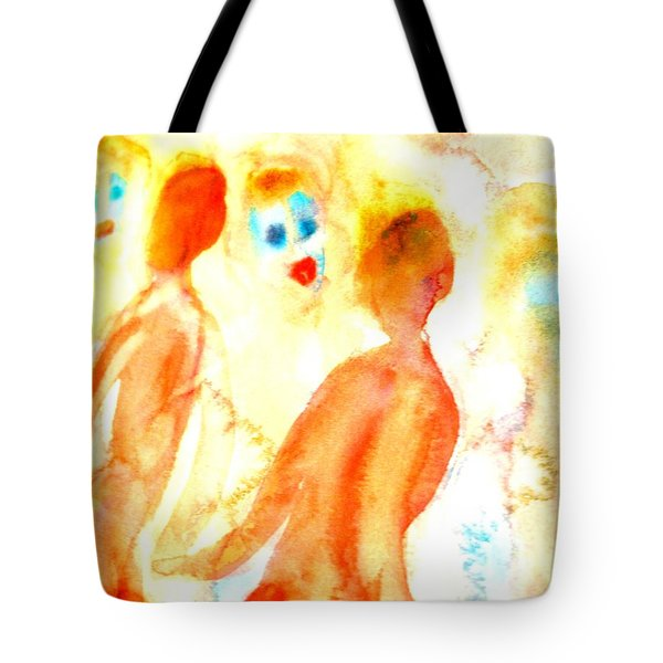 Look In The Mirror And See What You Can Find  Tote Bag