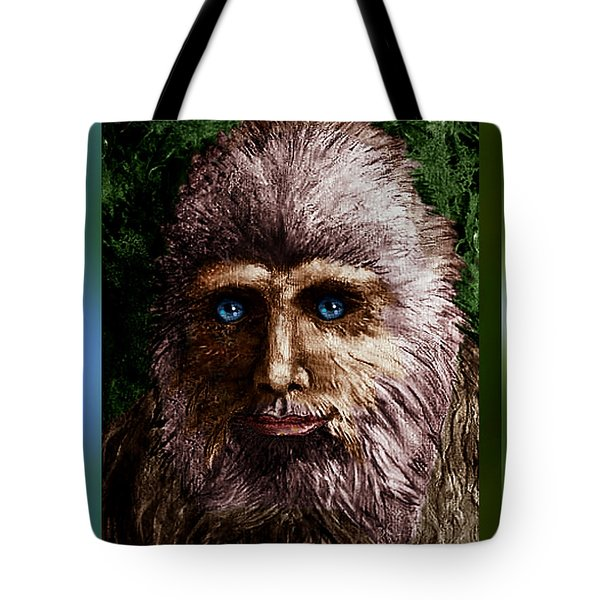 Look Into My Eyes... Tote Bag