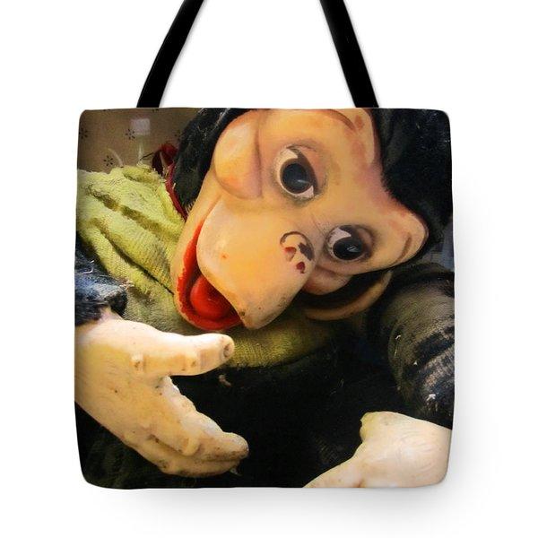 Look Ma No Thumbs Tote Bag by Kym Backland