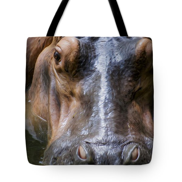 Look Me In The Eyes Tote Bag by Aged Pixel