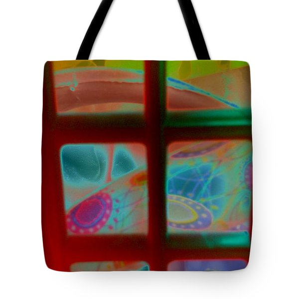 Look Through Any Window Tote Bag