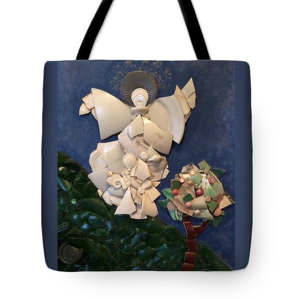 Look Unto The Hills Tote Bag
