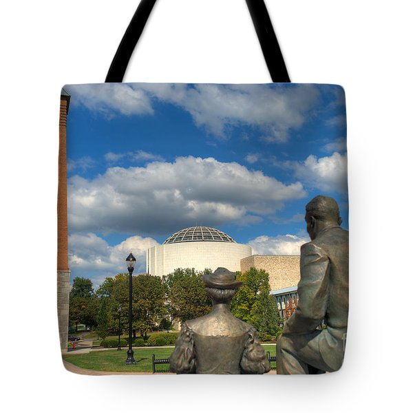 Look What They Built For Us Kitty Tote Bag