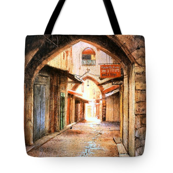 Look Who Is Coming Tote Bag
