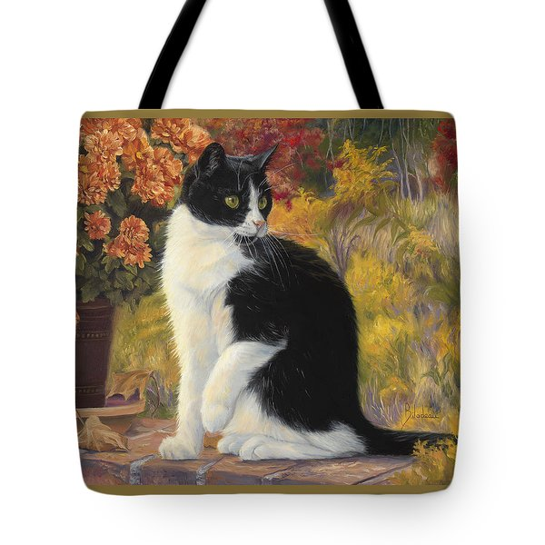 Looking Afar Tote Bag by Lucie Bilodeau
