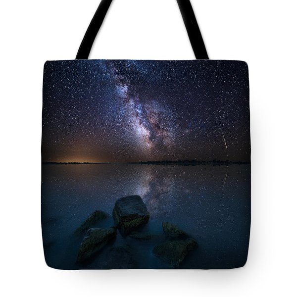 Looking At The Stars Tote Bag