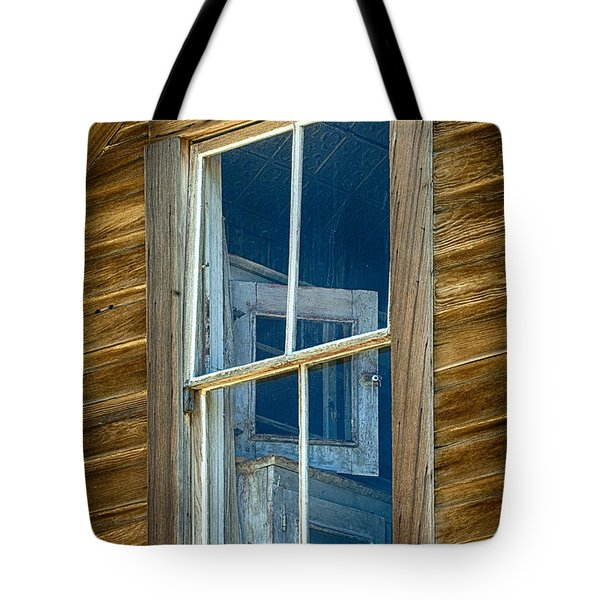 Looking Back In Time Tote Bag by Sandra Bronstein