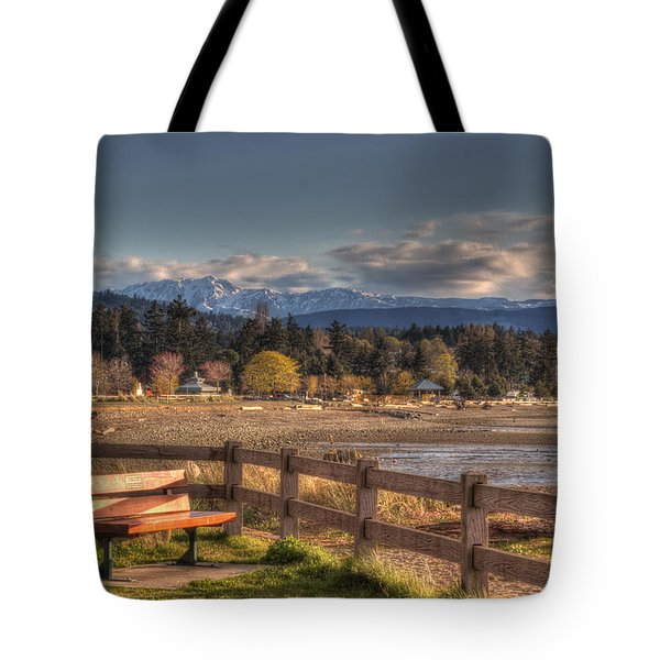 Looking Back Tote Bag by Randy Hall