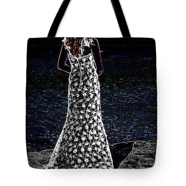 Looking Beyond  Tote Bag by Leticia Latocki