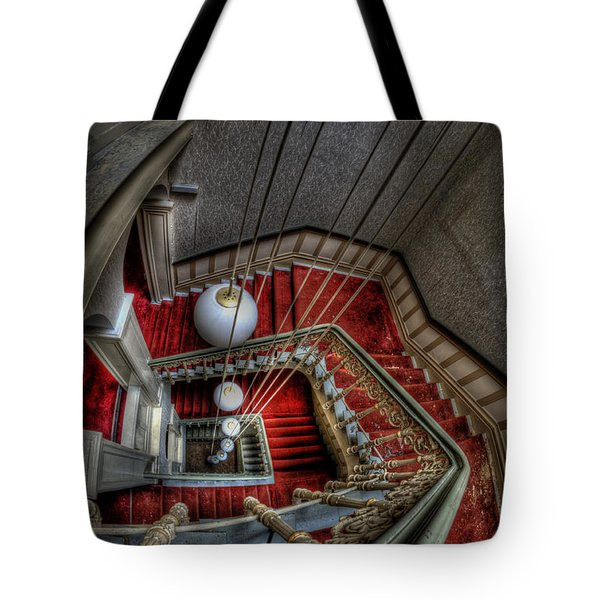 Looking Down On Beauty Tote Bag