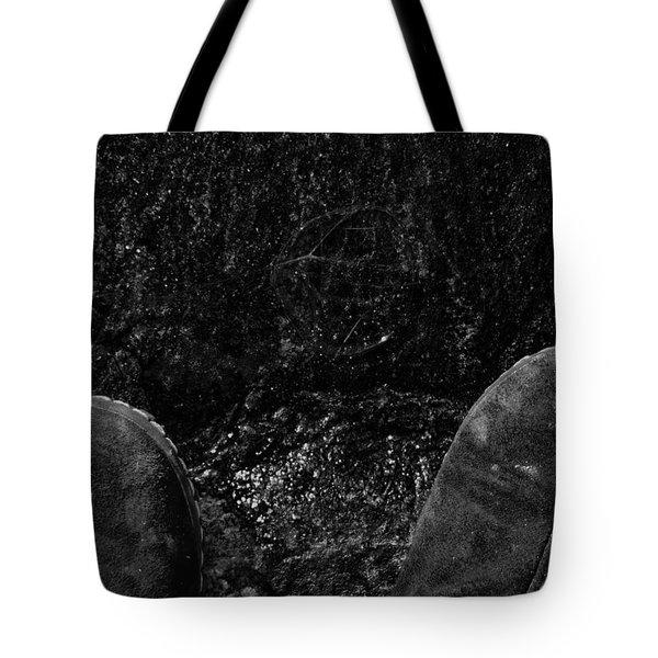 Looking Down On Space Tote Bag by Karol Livote
